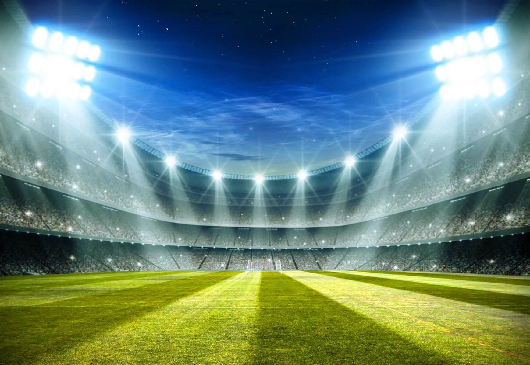 Football Stadium 2 Wallpaper Mural: Giant Paper Wallpaper 368x254cm Football Stadium Champions